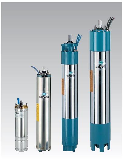 ตัวแทนจำหน่าย ผู้จัดจำหน่าย เครื่องสูบน้ำปั๊มน้ำบาดาล CALPEDA รุ่น CS Submersible bore-hole water pump ในประเทศไทย