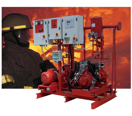 ตัวแทนจำหน่าย CALPEDA เครื่องปั๊มน้ำระบบดับเพลิง และระบบเสริมแรงดัน CALPEDA Pressure Boosting & Fire Fighting Set ในประเทศไทย