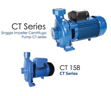 ตัวแทนจำหน่าย ร้านค้าขายปลีก-ส่งเครื่องสูบน้ำ-ปั๊มน้ำหอยโข่งใบพัดเดี่ยว ELECTRA รุ่น CT เพื่อการเกษตรและการชลประทาน (ELECTRA CT single impeller centrifugal pump) ในประเทศไทย